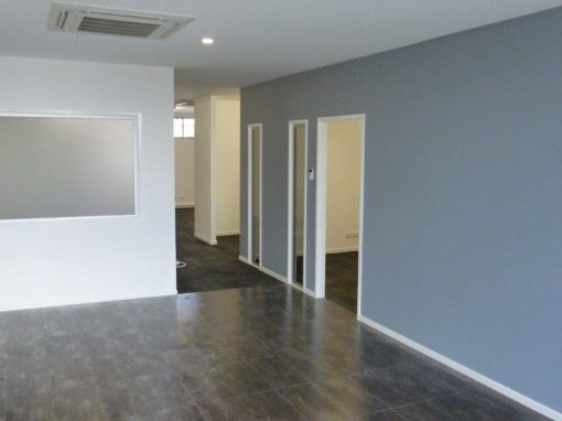 commercial build – office fitout Gladstone