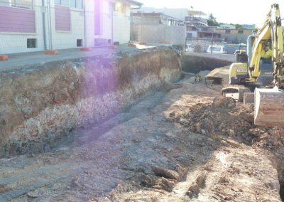 Site excavation begins